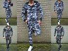 Camouflage Jogger Body Fitness Sport STREETWEAR Jogginganzug Training Boxing