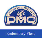 DMC 6-Strand Cotton Embroidery Floss Article 117 Thread Colors 720 - 996