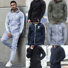 New DSRY Mens Tracksuit Top Fleece Designer Slim Fit Hooded Fitness Gym Hoodies