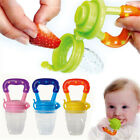 Feeding Pacifier Fresh Food Fruits Soup Dummy Soother Weaning Nipple For Baby US