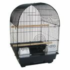 YML 3/8 in. Bar Spacing Round Top Bird Cage