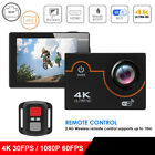 Ultra HD 4K Waterproof WiFi Action Camera Sports Cam DV Accessories For Go-pro