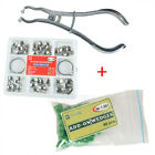 New Dental Contoured Matrices & Ring+Metal Matrices Plier+Dental Add On Wedges