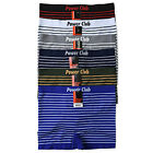 Lot 6 or 12 Power Club Mens Microfiber Seamless Boxer Briefs Underwear Wholesale