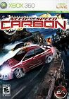 Need for Speed Carbon Xbox 360 Kids Racing Cars Video Game Disc Only 15d