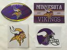 NFL Minnesota Vikings Sticker Package Logo Helmet Football Vintage Stickers NEW