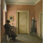 The Red Room - P Ilsted Print