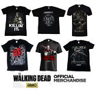 official amc the walking dead t shirt tee s xxl new in stock negan daryl rick