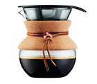 Superlative Pour Over Coffee Maker 17 oz, NO Filter, Filter Less NEW