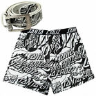 SANTA CRUZ set OGSC Boxer Shorts & Gürtel Set - Skateboard surfen Snowboard Co