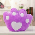 LED Colorful Stuffed Glowing Footprint Plush Pillows Cushion Light Up Toy Gifts
