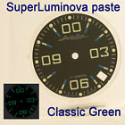 WATCHES-PARTS: HAND PAINTED SUPERLUMIA ZERO N1 DIAL VOSTOK AMPHIBIA 3 KINDS LUME image