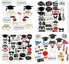 2019 Graduation Grad Party Supplies Masks Photo Booth Props Mustache US SHIP