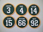 Green Bay Packers Magnets Retired Jerseys - Pick players - Round Jersey Design on eBay