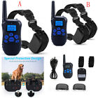 Safe Waterproof Rechargeable Remote Dog Non Shock Training Stop Bark Pet Trainer