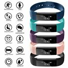 Bluetooth Smart Watch Fitness Activity Tracker Step Counter For i Phone Samsung