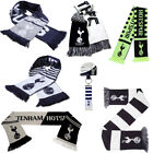 Tottenham Hotspurs Scarf - Supporter Soccer Club Gift Scarves Football