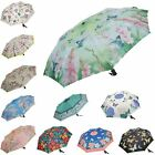 Ladies Wonderfully Patterned Automatic Compact Folding Mini Auto Open Umbrella
