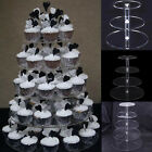 cupcake wedding stand - Layers Acrylic Cupcake Display Stand Serving Table Platter Rack Wedding Party US