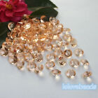 10mm 4CT Peach Acrylic Diamond Confetti Wedding Party Crystal Table Scatters