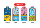 Kids Prayer Mat - Designed for Children, Salah Made Fun, Islam, Muslim
