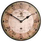 French Salon Wall Clock by J. Thomas, 12 or 24  - Made in the USA!