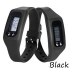 EP_ Run Step Watch Bracelet Pedometer Calorie Counter LCD Walking Distance Serap