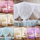 EP_ Romantic Princess Canopy Mosquito Net No Frame for Twin Full Queen King Bed  image