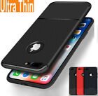 Luxury Ultra Thin Carbon Fiber Soft TPU Case Cover for iPhone X 8 7 6 6s Plus 5s