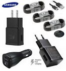 Original Samsung Galaxy S8 S9 Plus Adaptive Fast Wall Car Charger Type-C Cable