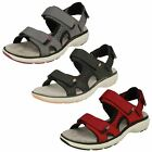Ladies Clarks Un Roam Step Casual Leather Sandals