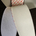 VELCRO® Brand Heavy Duty Stick On Tape in WHITE Hook & Loop 50mm (50cm-5m)