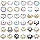 Kyпить 36-Styles Septum Clicker Nose Rings Hinged Segment Ring Crystal Gem Body Jewelry на еВаy.соm