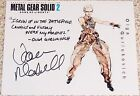 Autographed METAL GEAR SOLID Photos Signed By Voice Actors