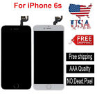 For iPhone 6s A1633 A1688 LCD Touch Screen Digitizer Replacement+Button+Camera