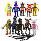 FNAF Five Nights at Freddy's Action Figures LED Light PVC Toys Gifts Collections