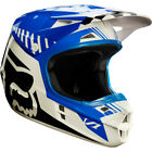 FOX 2017 V1 SE Fiend Offroad HELMET Blue/Red M MX/ATV/Motocross/Dirt Bike