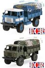 NEW WPL 1:16 SCALE 2.4G RC 4X4 MILITARY ARMY TRUCK & CANOPY COMPAT. HENGLONG FWD