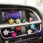 Car Crystal Flower Air Condition Outlet Fragrant Perfume Clip Freshener Diffuser