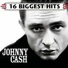 16 Biggest Hits by Johnny Cash (CD, 1999) New/Sealed, Free Shipping !!!