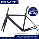 bike frameset - Full Carbon Road Bike Frame BSA Carbon Bicycle Frameset glossy matt 50/53/55CM