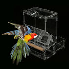 Automatic Bird Parrot Pet Feeding Bird Cage Food Container Case Feeder Tools