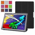 Thin Leather Case Cover & Screen Protector for Lenovo Tab 3 /Tab 3 PLUS 10 Inch