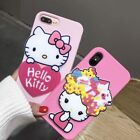 Cute Mirror Hello Kitty Melody Soft Silicone Case Cover for iPhone X 6S 7 8 Plus