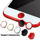 Support Touch ID Home Button Fingerprint Sticker for Apple iPhone 7/7Plus/6S/6/5