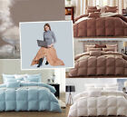 Premium Goose Down Comforter / Duvet 100%Cotton Shell with a free down blanket
