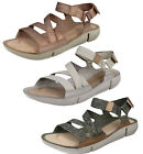 Ladies Clarks Tri Sienna Casual Leather Sporty Sandals