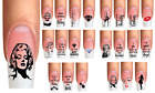 Wraps CA Nail Art Tattoo Marilyn Monroe Sticker Aufkleber Watertattoo handgemalt