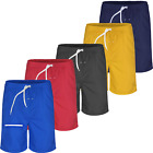 Mens Swimming Shorts Swim Boarding Summer Mesh Lining Trunks Zip Pockets Shorts