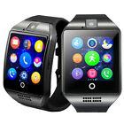 Bluetooth Smart Watch Touchscreen Unlocked GSM Watch Cell Phone For Android iOS